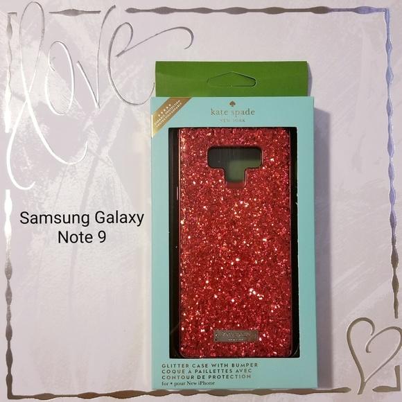best cheap f90b8 3a440 Samsung Galaxy Note 9 Kate Spade Glitter Case